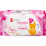 Flushable Moist Wipes