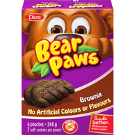 Bear Paws Brownie