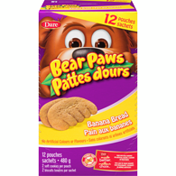 Bear Paws Banana Bread