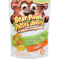 Bear Paws Crackers, Cheddar