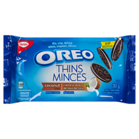 Oreo Thins Chocolate Sandwich Cookies Coconut Creme