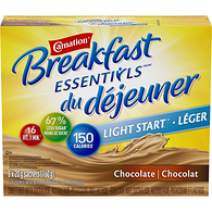 Breakfast Essentials LIGHT START, Breakfast Drink Mix, Chocolate