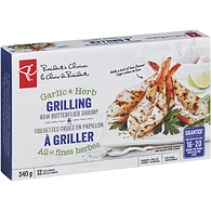 Gigantico Garlic & Herb Grilling Raw Butterflied Shrimp