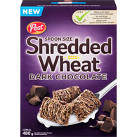 Shredded Wheat Spoon Size Cereal Dark Chocolate