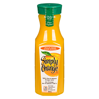 100% Pure & Natural Orange Juice Pulp Free