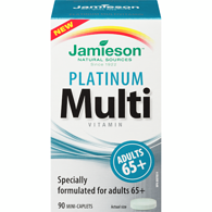 JamiesonPlatinum Multivitamin Adults 65+ 90 Mini-Caplets