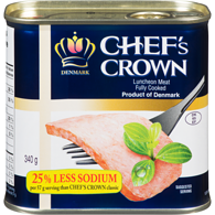 Chef's Crown Luncheon Meat Fully Cooked
