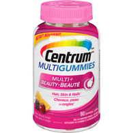 MultiGummies Multivitamin Supplement, Cherry, Berry & Orange