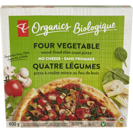 Organic Four Vegetable Pizza