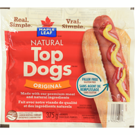 Top Dogs Wieners, Original Regular