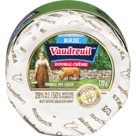 Vaudreuil Double Créme Brie Cheese