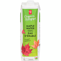 100% Maple Water