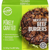 Grass Fed Beef Burger