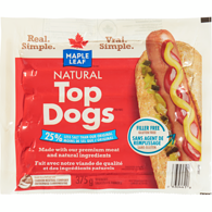 Top Dogs Wieners, Less Salt