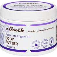 C.Booth Egyptian Argan Oil Body Butter