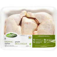 Organic Chicken Legs, Family Tray Pack