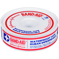 Band-Aid Waterproof Tape 1.2 cm x 9.1 m