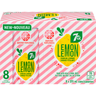 7UP citron pamplemousse