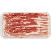 Free From Pork Side Slices, Tray Pack