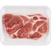 Free From Pork Shoulder Blade Steaks, Tray Pack