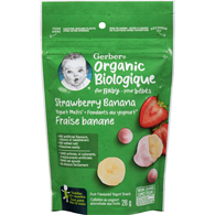 Organic Yogurt Melts, Strawberry Banana