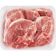 Free From Boneless Rib End Pork Chops, Tray Pack