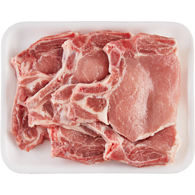 Free From Bone In Pork Center Cut, Tray Pack