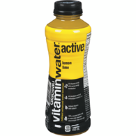Active Nutrient Enhanced Water Beverage Lemon Lime