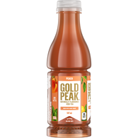 Gold Peak Natural Peach Flavour Iced Tea Slightly Sweet