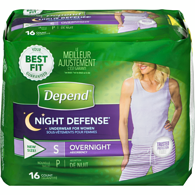Women's Overnight Unscented, Small