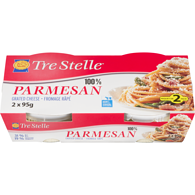 Tre Stelle Grated Cheese 100% Parmesan 31 % M.F.
