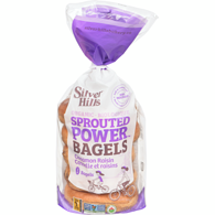Sprouted Power Bagels Cannelle et Raisins Biologique