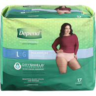 Fit-FlexUnderwear for Women Maximum Absorbency