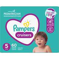 Pampers Cruisers, Size 5