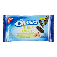 Oreo Thins Chocolate Sandwich Cookies Pistachio Creme