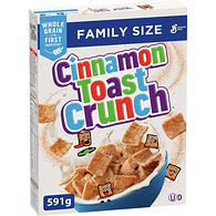 Cinnamon Toast Crunch Cereal Family Size