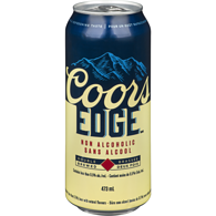 Edge Non-Alcoholic Beer with Natural Flavours Double Brewed