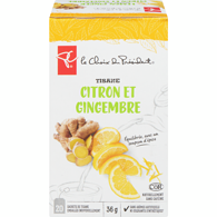 tisane citron et gingembre