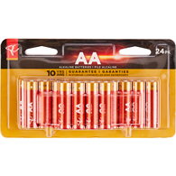 Alkaline, AA24 Batteries