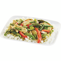 Thai Style Green Curry Chicken Stirfry, Serves 2