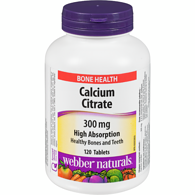 Calcium Citrate 300 mg High Absorption