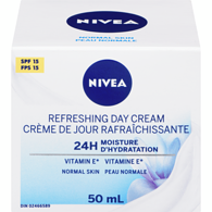 Essentials 24H Moisture Boost + Refresh Day Cream Normal Skin SPF 15