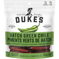 Smoked Shorty Sausages Hatch Green Chile