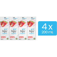 Fit Organic Fruit Juice Beverage Strawberry Watermelon