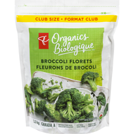 Organics Broccoli Florets Club Size