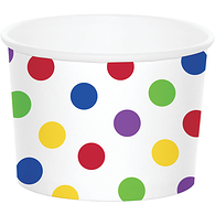 Treat Cup, Multicolour Dots