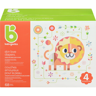 Skin Love Diapers Size 4 Box - 68ct