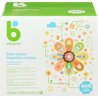 Baby Wipes, 400ct