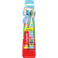 Kids Manual Toothbrush with Suction Cup, Peppa Pig