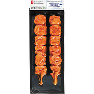 Buffalo Chicken Kebabs
